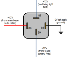 How To Wire A 4 Pin Relay Step By